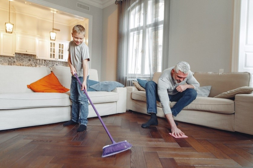 Cleaning Dallas Maid Service